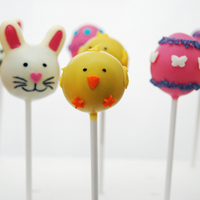 Easter Cake Pops   Easter rabbits, chicks and eggs!