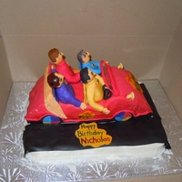 The Wiggles The wiggles cake for a friend of mine