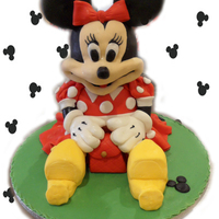 Minnie Mouse This was done during my cake course