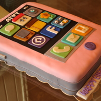 Pink Iphone Cake Making this iPhone Cake was so much fun! This was for my friends' daughter 11th birthday. Her favorite color is pink so she requested...