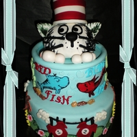 Dr Seuss Birthday Cake