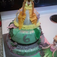Idressa From Tinkerbell And Friends This Was My First Time Making A Barbie Doll Cake Everything Is Hand Painted And Edible Except For The Idressa from Tinkerbell and Friends: This was my first time making a Barbie Doll Cake. Everything is hand-painted and edible except for the...