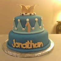 1St Birthday Little Prince Cake