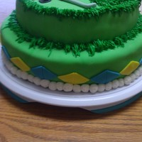 Golf Cake Chocolate cake with fudge filling. Got the idea from all the great golf cakes on cake central. Thanks for the help! It was hit.