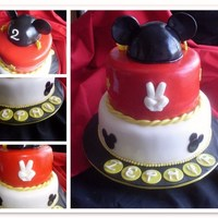 Zephyr's Mickey Mouse Cake