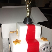 Oscar Birthday Cake