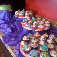 Array Of Cupcakes