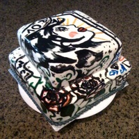 Tattoo Cake-Hand Painted