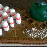 Birthday Bowling Cake
