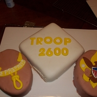 Court Of Honor Cake