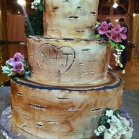 Birch Tree Engagement Cake I had a lot of fun with this one. Each tier resembles a birch tree. A barn-themed engagement party might sound a bit strange at first, but...