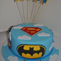 Super Hero Cake... Superman, Spiderman, Captain America And Batman Super hero cake... superman, spiderman, captain America and Batman. Gluten Free chocolate mud