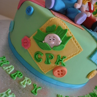 Cabbage Patch Kid 30Th Birthday Cake Cabbage patch kid 30th birthday cake