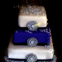 Blinged Out Birhday Cake!