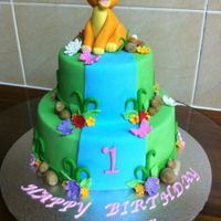 Kiara The Lion Cake