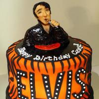 Elvis - Tiger Man I made this Elvis cake for my sister over the weekend. She loves Elvis, especially his 1968 comeback special concert where he was wearing...