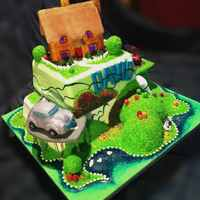 Devon Countryside Bday Cake