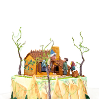 Brother Grimms Cake Published In Cake Central Magazine Vol. 3 Issue 10 (October)