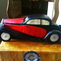 Bugatti T50 This cake was made for the 125th anniversary of the Automobile Club du P?rigord