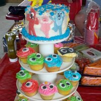 Yo Gabba Gabba This is my first post onto cake central! I love this cake and hope I get to do it again!