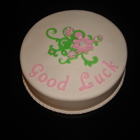Good Luck Cake For a farewell party.
