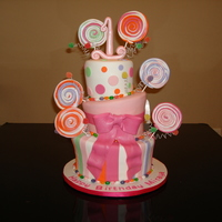 My First Topsy Turvy Cake Design from Pink Cake Box