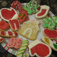Christmas Sugar Cookies Christmas sugar cookies