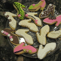 High Heel Sugar Cookies High heel sugar cookies with fondant
