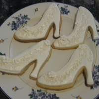 Bridal Shower Sugar Cookies With Fondant Bridal Shower sugar cookies with fondant