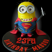Minion Of Steel Minion of Steel Cake