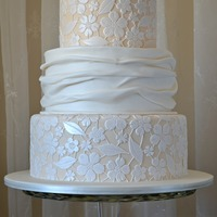 Fabric And Lace This Cake Was Originally Designed By Amy Beck Cake Design And I Was So Happy To Have The Opportunity To Make It For A Speci... Fabric and lace.This cake was originally designed by Amy Beck Cake Design and I was so happy to have the opportunity to make it for a...