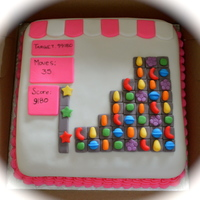 Candy Crush Cake Candy Crush Cake!