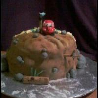 Over The Hill Cake 2   *
