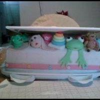 Baby Shower Cake For A Baby Girl   *baby shower cake for a baby girl