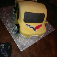 Car Cake This was my first attempt at making a car cake.