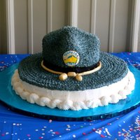 Trooper Hat Birthday Cake I made this cake for a friend of mine. I originally covered the hat in fondant, but it cracked and tore and looked awful. So after a brief...