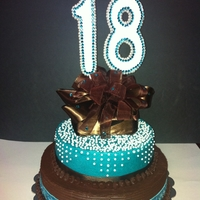Eighteenth Birthday Cake