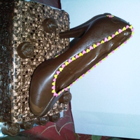 High Heel Chocolate Cake Made this for my Cousin Engagement