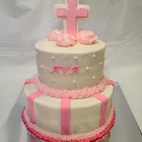 Ava first communion cake for a friends daughter - she sent me the design