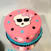 Monster High small monster high cake