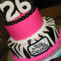 Hot Pink And Zebra