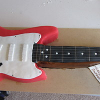 Guitar Cake This cake is 2.5 ft long