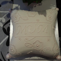 Mother's Day Cake Inspired by a Wilton cake - I decided to try out my pillow cake tins for the first time. This cake was so much fun to do and is to date my...