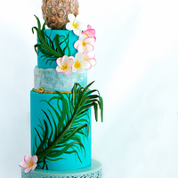 Hawaii Around the World in 40 Cakes for Cake Masters Magazine. Welcome to beautiful Hawaii with its swaying palms, bright Plumeria, cool blue...