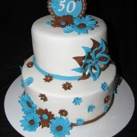 Blue And Brown 50Th