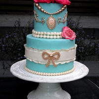 Rococo Rococo Ice blue and Pink..