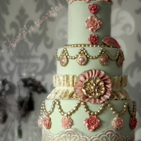 Vintage Cake Try out new things, molds, colours ect..