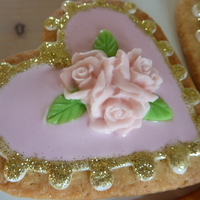 Glitter Glammer Sweet Heart   for my sweet dochter, a glitter glammer heart. It is a birthday give-away