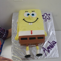 Spongebob Cake For My Daughters 4Th Birthday Spongebob cake for my daughters 4th Birthday.