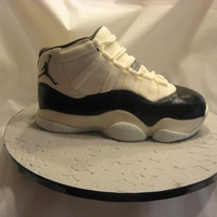 Jordan Xi This shoe serves about 15. It is the fourth shoe I've made. Some how, I deleted my original post. TFL again :-)